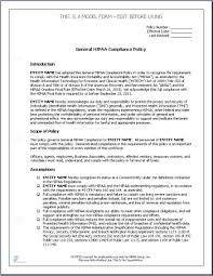 policy templates hipaa privacy and security policy template hipaa policies for
