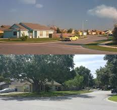 the suburban edward scissorhands neighborhood years later edward scissorhands 3