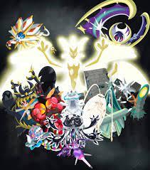 "My attempt at drawing the ""Aliens""! (Ultra Necrozma, Ultra Beasts,  Solgaleo, Lunala): pokemon"
