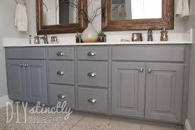 diy refinishing bathroom vanity. painted bathroom cabinets magnificent how to paint diy refinishing vanity o