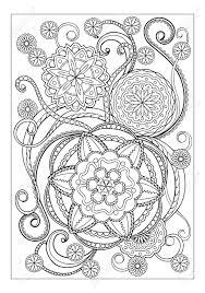 Geweldige Kleurplaten Mandala Bloemen Krijg Duizenden