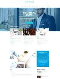 Templates Political Template Free News Portal Newspaper Or