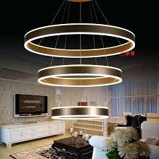 modern acrylic chandelier modern acrylic chandelier led circle rings hanging pendant chandelier lights for living room