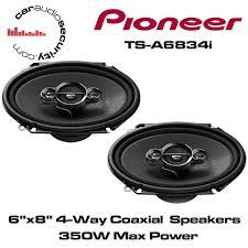 pioneer 6x8 speakers. pioneer ts-a6834i - 6\ 6x8 speakers i