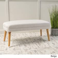 desdemona midcentury fabric ottoman by christopher knight home