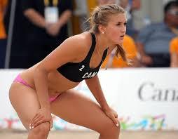 Sexy single women of beach volleyball