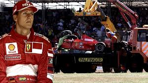 Er überstand den unfall wie durch ein wunder unverletzt. Formel 1 Abflug Mit 300 Km H Der Schlimmste Unfall Von Michael Schumacher