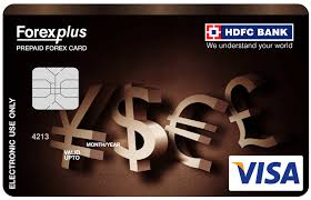 hdfc bank forexplus card image