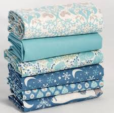 93 best Fat Quarter Fabric Bundles images on Pinterest | Fat ... & Very pretty fat quarter #fabric bundle in duck egg a Royal Blue with cute  forest Adamdwight.com