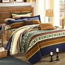 olive green bedding and gold style tribal paisley print