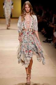 boho chic clothing trend for summer 70s fashion