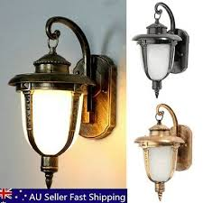 aluminum wall light lamp garden outdoor hanging exterior porch patio lantern