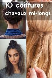 Cheveux Mi Longs 10 Coiffures Faciles Et Rapides Faire Soi M Me