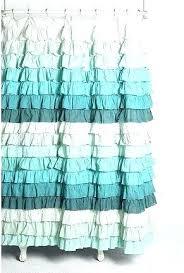 ruffle shower curtain blue curtains purple ombre home classics p