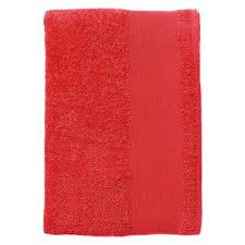 <b>Полотенце махровое Island Large</b>, красное | Келла-Дизайн