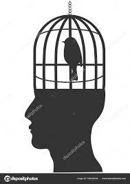 鳥籠頭部 ストックベクター Huhulin 189436248