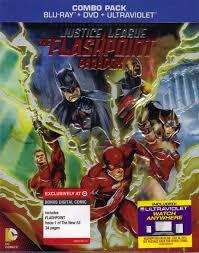 Justice League: The Flashpoint Paradox w/ Bonus Digital Comic (BD/DVD +  Digital Copy)(Exclusive)