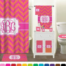 teal chevron shower curtains. Pink And Teal Chevron Shower Curtain Curtains S