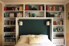 Bookshelf In Bedroom Home Design