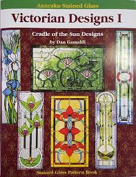 Stained Glass Pattern Books Simple Pattern Books VWXYZ The Glass Garden LLC