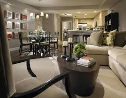 Small Open Plan Home InteriorsOpen Living Room Dining Room Furniture Layout