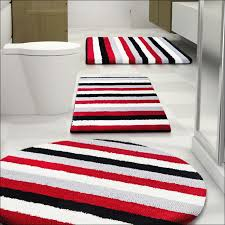bathroom black and white striped bathroom rug beautiful red bath mats and rugs rugs gallery