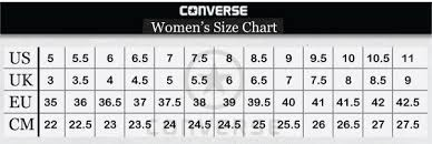 Chuck Taylor Shoes Size Chart Best Price Converse Shoes Size Chart C8ed9 986f5