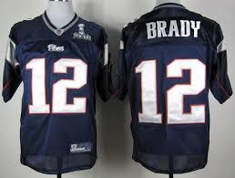 England 2012 Patriots 12 Del Super Bowl €18 - Azul Brady Mejor Jersey Tom 70 New Nfl Xlvi Vuelos