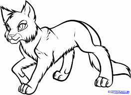 Small Picture Amazing Warrior Cat Coloring Pages 39 With Additional Coloring for