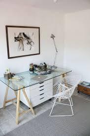 glass desks for home office. the small home office design ideas glass desk hello lovely living within desks for s
