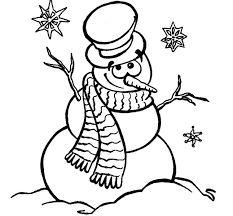 Snowman Coloring Pages Koloringpages With Page And - glum.me