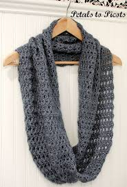 Crochet Patterns For Scarves Awesome Simple Infinity Scarf Crochet Pattern Crochet And Knit