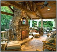 Covered Patio Designs Images Of Covered Patios Outdoor Fireplace