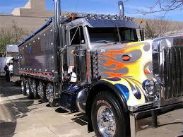 cool semi trucks custom paint job and brilliant chrome bad cool semi trucks custom paint job and brilliant chrome
