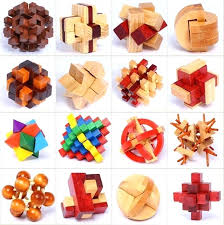 Wooden Games For Adults Wooden Toys For Adult Lot Best Educational Brainteaser Burr Puzzle 74