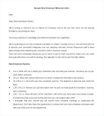 New Employee Introduction Email Template Hr Welcome Letter