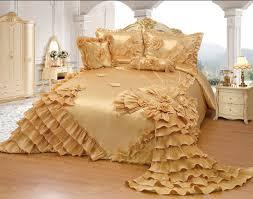 Amazon.com: Octorose Royalty Oversize Wedding Bedding Bedspread ... & Amazon.com: Octorose Royalty Oversize Wedding Bedding Bedspread Quilts Set  (Gold, Full/queen): Home & Kitchen Adamdwight.com