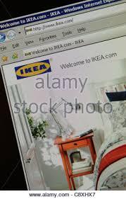 ikea furniture retailer worldwide website  ikea furniture retailer  worldwide website - Stock Photo