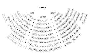 Trustees Theater Seating Chart Theatre Box Office Nicolet College