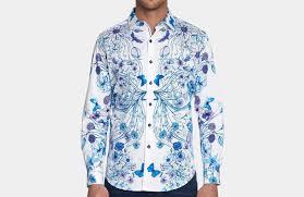 Mens Designer White Linen Shirt 15 Best Men Designer Shirts From Robert Graham To Stand Out