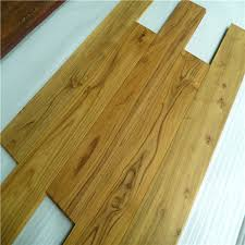uv lacquered water resistant solid chinese teak wood flooring china hardwood floors wooden floor
