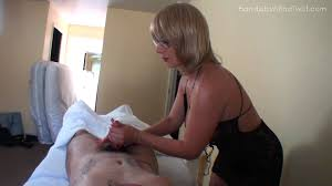 Milf massage hand job video