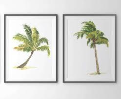 palm tree print palm tree art set of 2 prints palm tree throughout on palm tree wall art set with photo gallery of palm tree wall art viewing 6 of 42 photos