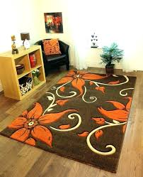 orange and brown rug burnt living room rugs designs for cream brown rugs