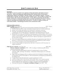 Nonprofit Executive Director Resume Non Profit Executive Director