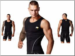 Best compression tops fit the body tightly.