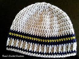 Mens Crochet Beanie Pattern Cool Crochet Men's Hat Free Patterns