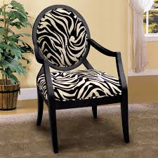 innovative animal print accent chair furniture of america sansa zebra print accent chair 16385271