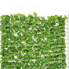Artificial Trellis With Lights Living Space Artificial Fence 3 X 1 M Green
