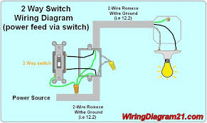 1 light 2 switches wiring diagram wiring diagram One Light Two Switches Wiring Diagrams how to make one two or three switch circuits 2 Switches 1 Light